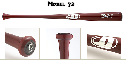 Diablo Model 72 Wood Bat