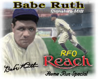 Babe Ruth Baseball Glove