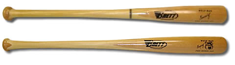 Brett Bros Wulf Man Bamboo / Birch Wood Bat