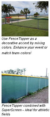 FenceTopper Outfield Fence Cap
