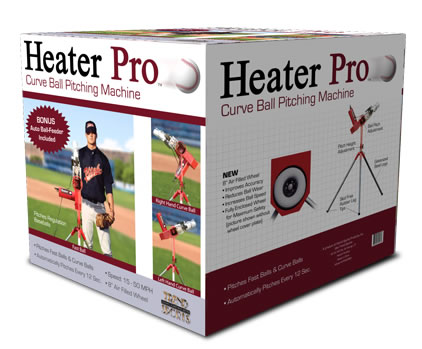 Heater Pro Curve Curveball Pitching Machine