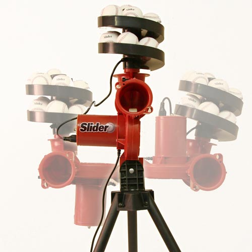 Heater Slider Pitching Machine