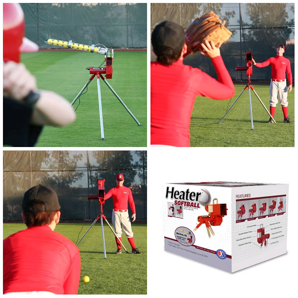Heater Pro Pitching Machine Heater Softball Pitching