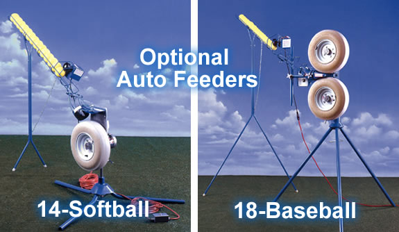 JUGS Baseball & Softball Pitching Machine Auto Feeders