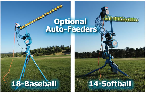 JUGS Lite Flite Pitching Machine Auto Feeders
