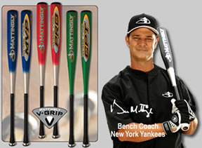 Mattingly V-Grip Aluminum Bats