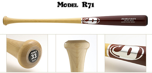 Diablo R71 Wood Bat