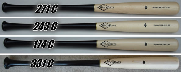 Rock Bat Composite Wood Bats