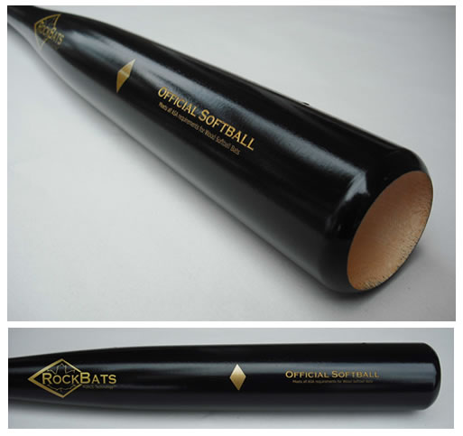 RockBat Softball Maple Wood Bat
