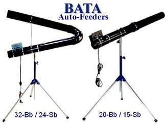 Bata Pitching Machine Auto Feeders