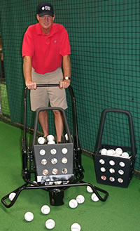 Batting Cage Baseball Mower