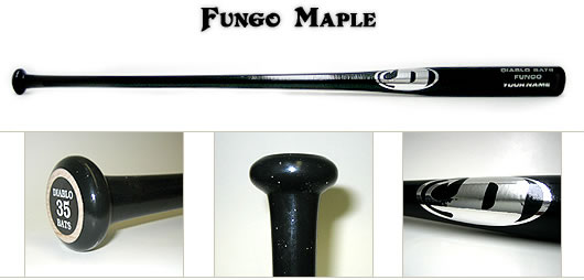 Diablo Maple Fungo Wood Bat