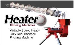 Heater Pitching Machines