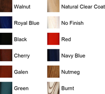 Phoenix Bat Wood Bat Colors