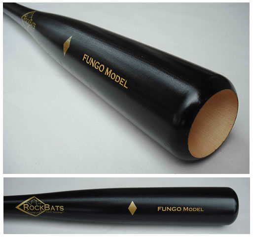 Rock Bat Maple Wood Fungo Baseball Bat