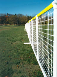 SportPanel Outfield Fencing with SafeRail