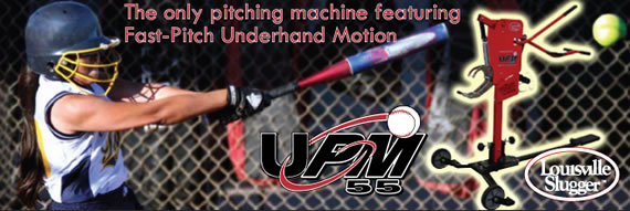UPM55 Softball Pitching Machine