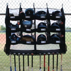 Portable Baseball Bat And Helmet Rack The Bench Coach