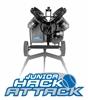 JUNIOR HACK ATTACK 3-Wheel Baseball Pitching Machine