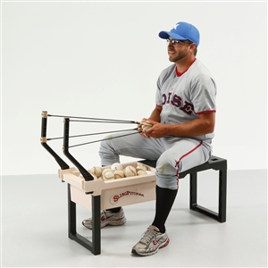 Sling Pitcher Pitching Machine And Ball Launcher