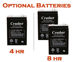 Heater Crusher Curve Batteries