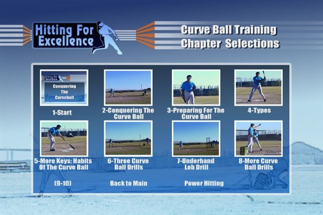 Hitting For Excellence Curveball & Power Hitting Video By