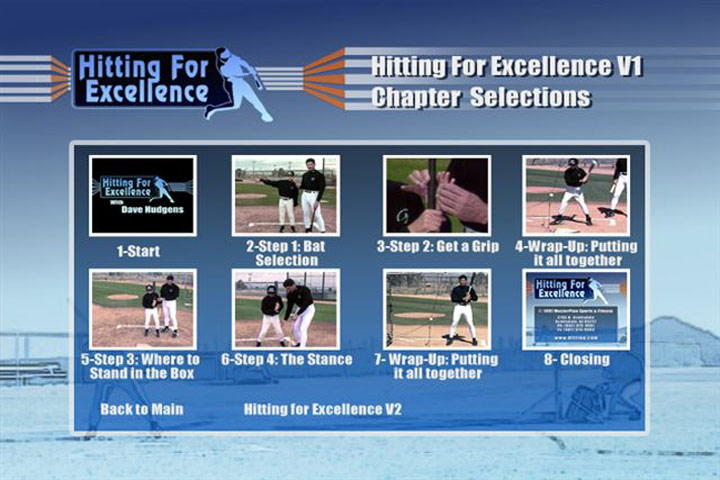 Hitting For Excellence Swing Mechanics Video By Dave