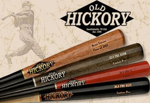 Old Hickory Wood Baseball Bats