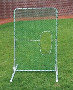 Oip 7 X4 Front Toss Softball Screen Hittingworld Com