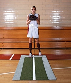 Jennie Finch Pitching Lane Pro Softball Pitching Mat